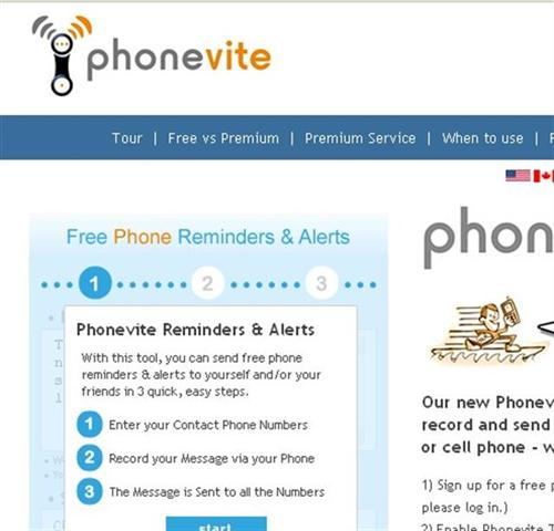 phonevite.com allows you to send messages to multiple people instantly over the phone