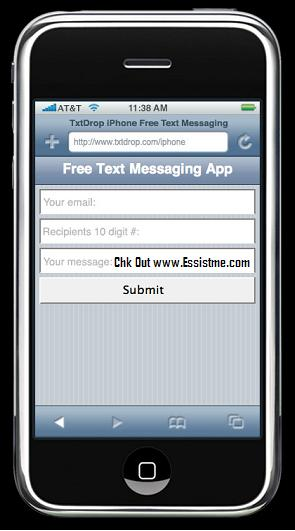 iphone-free-text-messaging